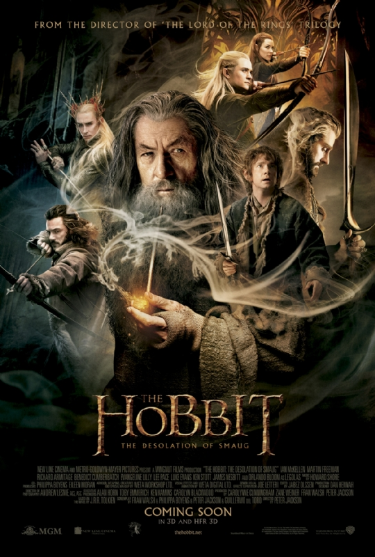 Desolation of Smaug movie poster