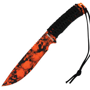 Black Legion Orange Skull Mayhem Bowie