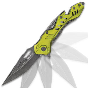 Rampage Green Atomica Assisted Opening Pocket Knife