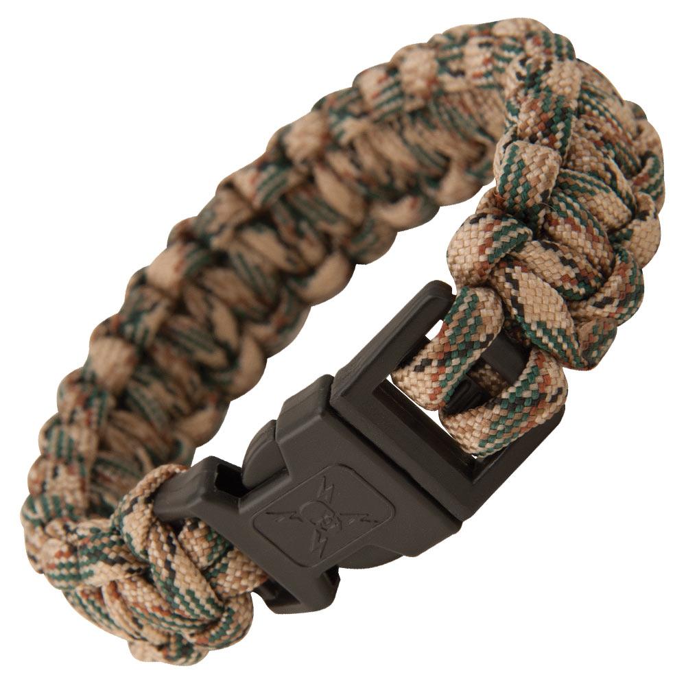 Elite Forces Paracord Bracelet Tan Camo