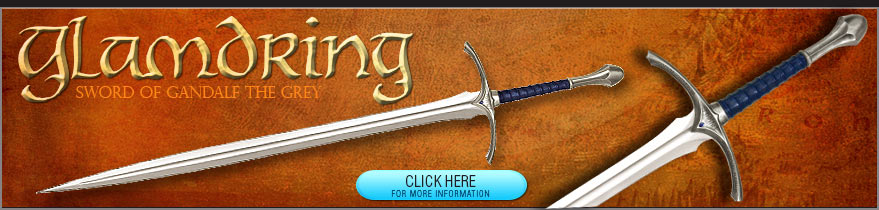 Glamdring Sword of Gandalf the Grey